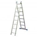 Алюминиевые двухсекционные лестницы-стремянки серия Stabilo Krause