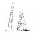 Алюминиевые двухсекционные универсальные лестницы серия Н2 Алюмет
