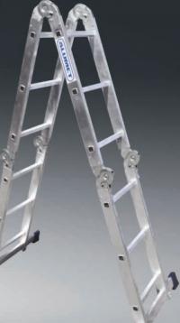 Четырехсекционная облегченная лестница 4х3