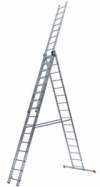 TRIBILO Универс. лестница их трёх частей, 3 х 14 перекладин