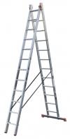 DUBILO Универс. лестница, их двух частей, 2 х 12 перекладин