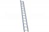 Лестница широкая приставная односекционная 18 ступ