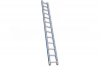Лестница широкая приставная односекционная 15 ступ