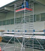 STABILO 5000-2,5 Передвижные подмости, поле 2,5 х 1,5 м. Раб. высота 7,3 м